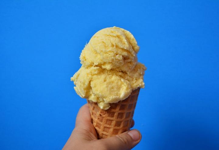 La crème glacée festive au Piñacolada