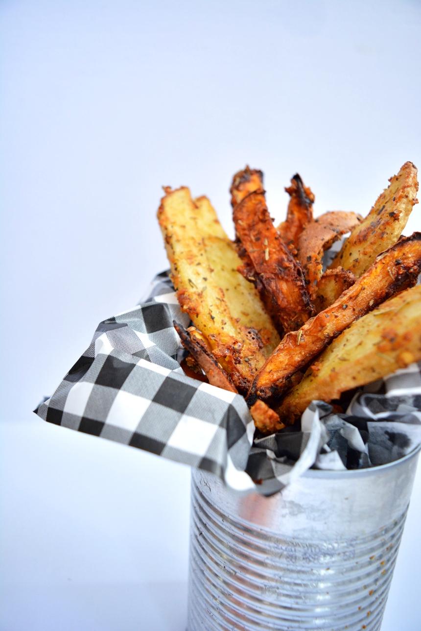 pétates frites au parmesan avant texte