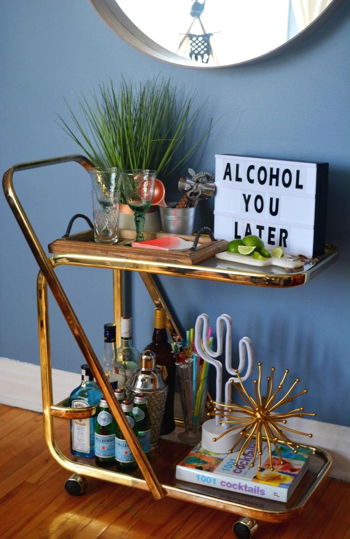 diy bar project maison