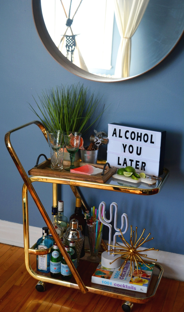 diy bar project