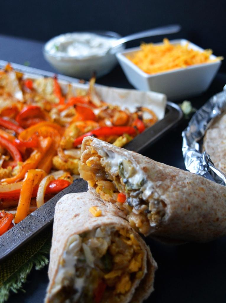 souper rapide vegetarien fajitas trop bon
