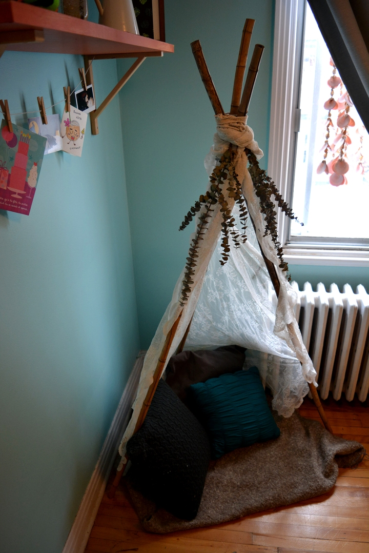 DIY, Tipi Boho pour la maison ultrafacile