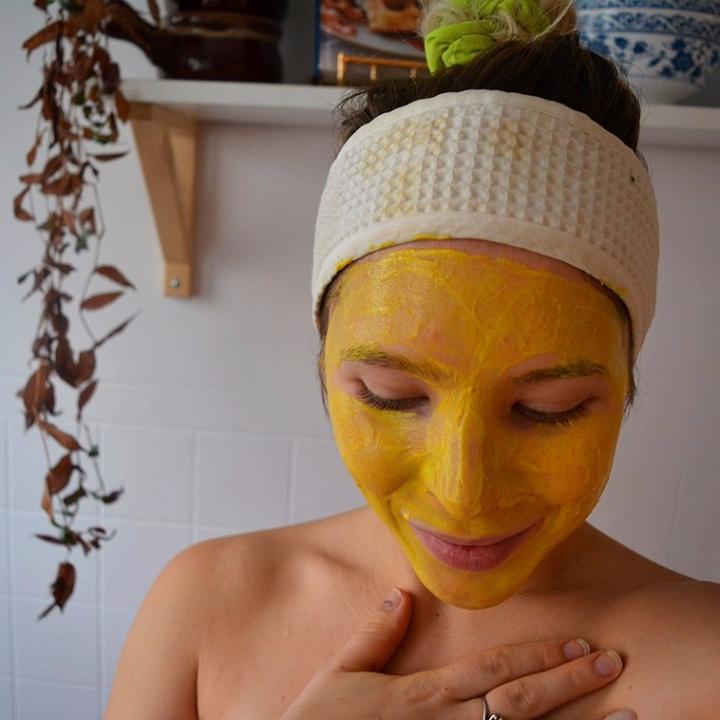 DIY- Masque maison pour le visage ; L'éclatant