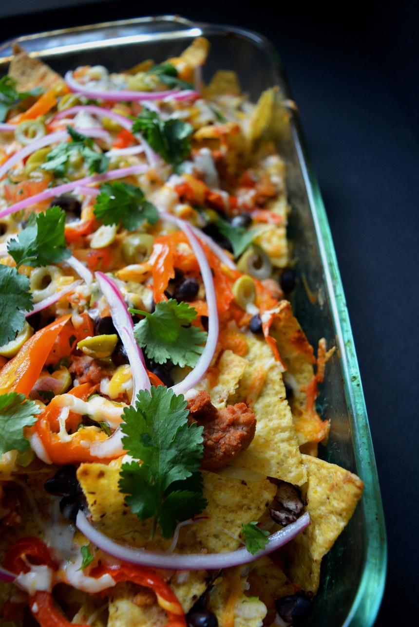 nachos végétariens