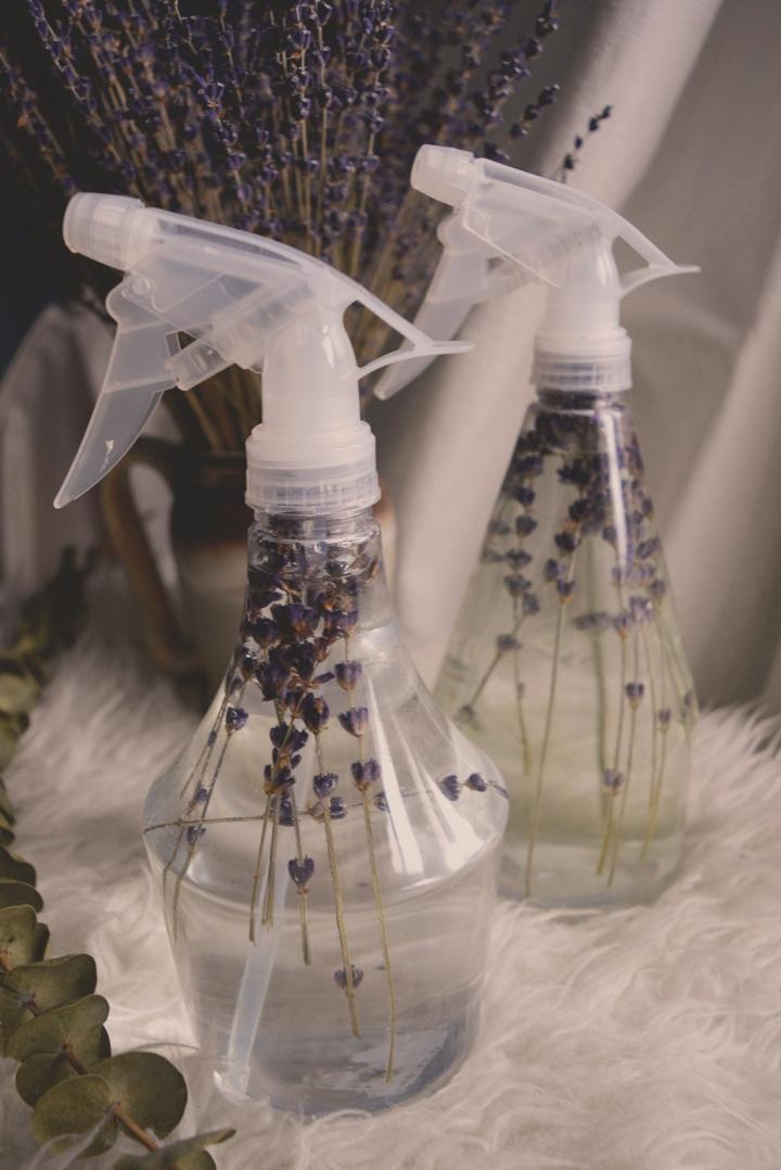 DIY- Diffuseur de parfum d'ambiance maison; Lavande etEucalyptus