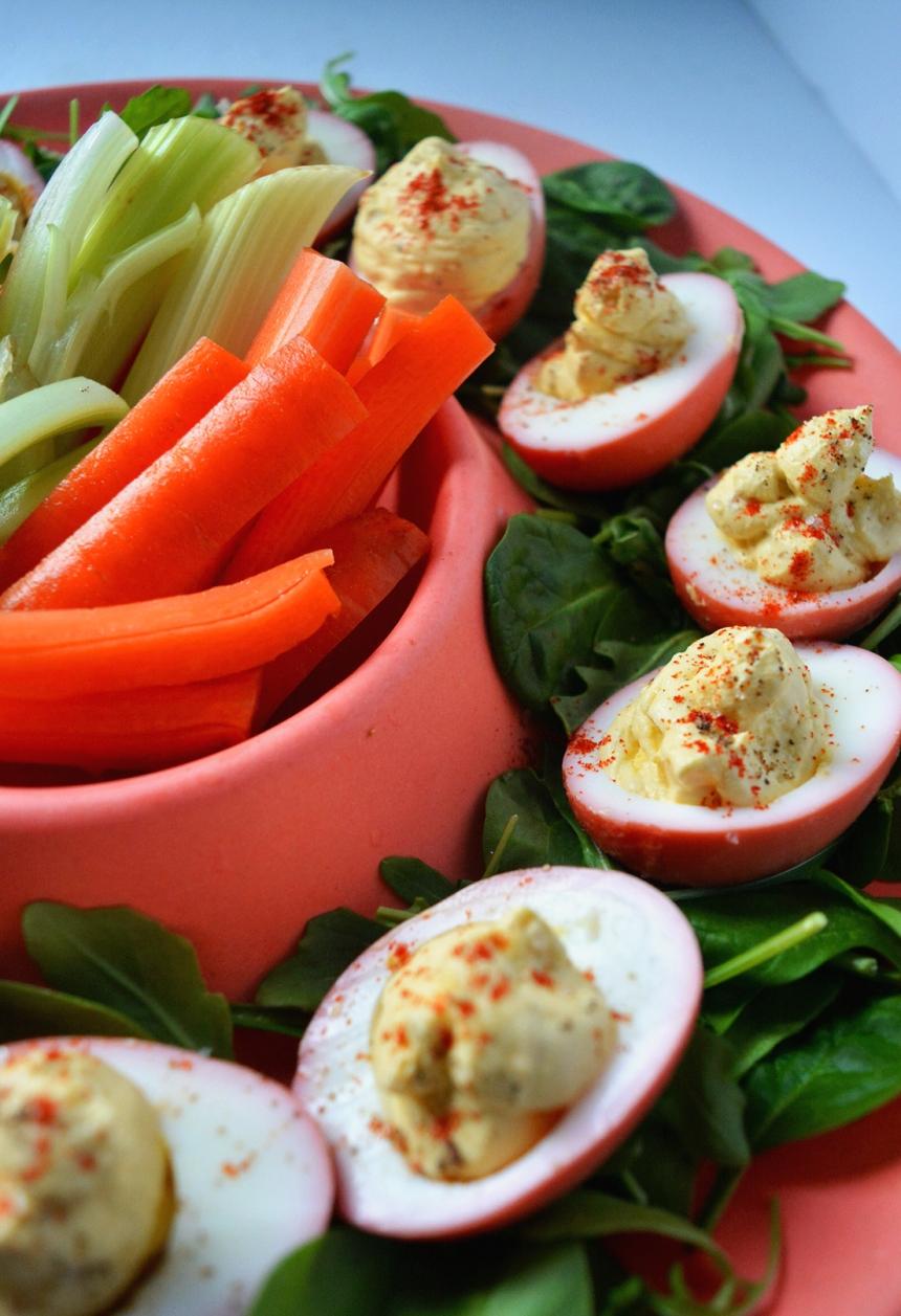 coco de pâques brunch recevoir végétariens