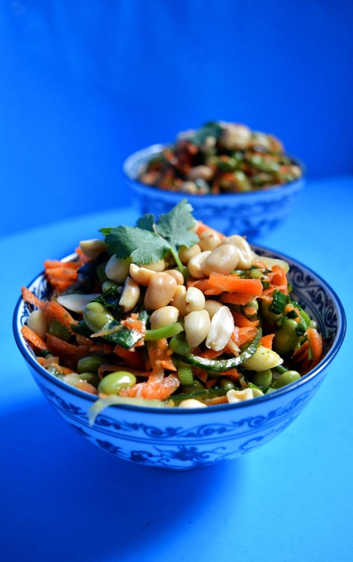 salade epicee asiatique
