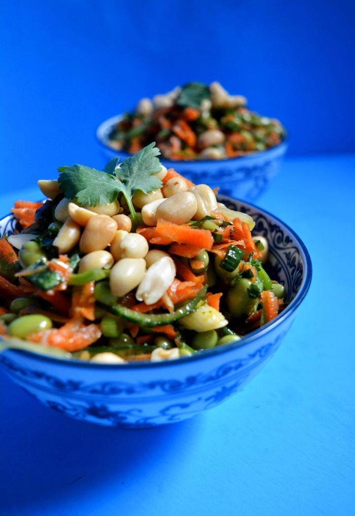 Salade épicée à l'asiatique